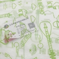 17克印刷单色Logo拷贝纸防潮包装纸 5