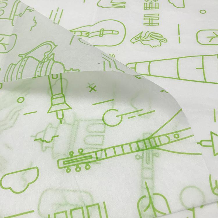 17克印刷單色Logo拷貝紙防潮包裝紙 6