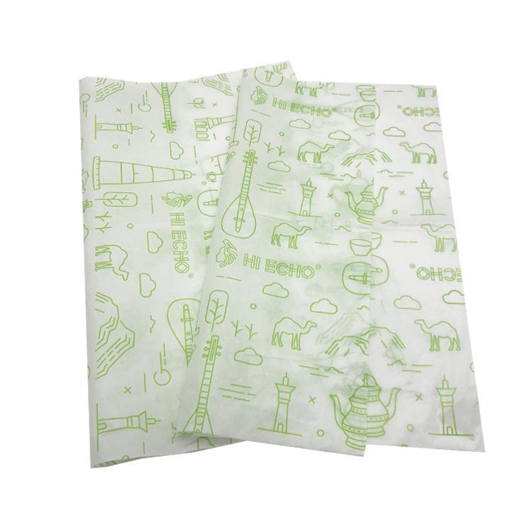 17克印刷单色Logo拷贝纸防潮包装纸 7