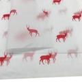 17克印刷红色圣诞小鹿雪梨纸礼品节日包装纸