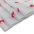 17克印刷红色圣诞小鹿雪梨纸礼品节日包装纸 7