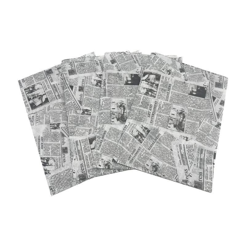 17克印刷黑色logo英文字母雪梨纸 包装纸 7