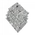 17克印刷黑色logo英文字母雪梨纸 包装纸
