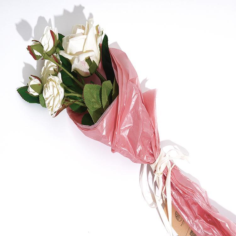 17克满版玫瑰金鲜花包装纸定型拷贝纸 2