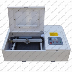 Mini Rubber Stamp Making Machine Laser Cutting Engraving Machine 250*250mm
