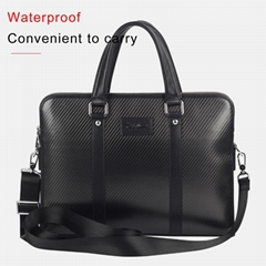 Low Profile Luxury carbon fiber business briefcase