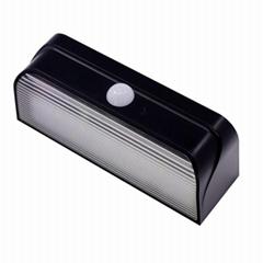 1804 LED Solar Sensor Lights(Black)