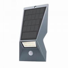 Super Bright Security Outdoor Garden Waterproof Sensor 18 Led Wall Solar Light