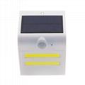 Energy Saving Home Decoration Waterproof IP65 Sensor Solar Outdoor Wall Lights 2