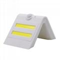 Energy Saving Home Decoration Waterproof IP65 Sensor Solar Outdoor Wall Lights 4