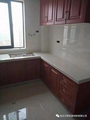 濰坊廚房石英石櫥櫃加工安裝