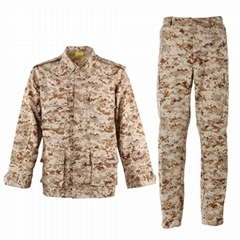 BDU Uniform T/C 65/35 Combat Military Camouflage Tactical Army Uniform
