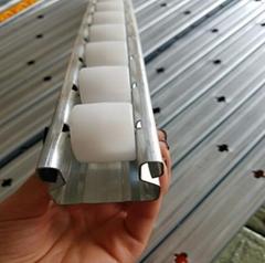 恆川貨架廠線棒專用滑道流利條滑道接頭