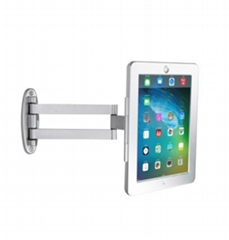Anti-theft bracket for tablet counter-top display