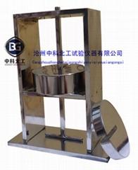 半硬質套管及波紋套管耐熱試驗裝置