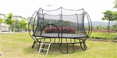 Outdoor springless trampoline and indoor trampoline park 8 feet