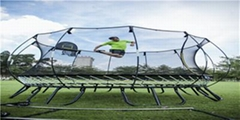 Wholesale production  No spring Free Fitness outdoor Safety trampoline