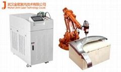 汽车零部件ABB机器人激光加工机