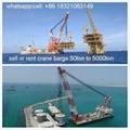 buy floating crane charter crane barge
