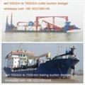 cutter suction dredger 1000cbm 1500cbm