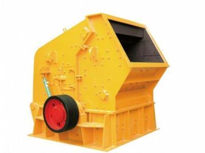 Manufacturers sell PF-1 hard rock impact crusher