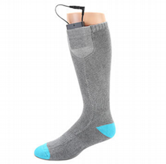 Washable Warming 3.7V 1.1A Battery Operated Heated Skating Socks