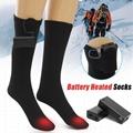 Black AA Battery heating socks 4