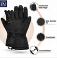 3.7V Thin outdoor heated winter gloves