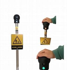 防爆人体静电消除装置 本安型人体静电释放器 人体静电释放球 PE