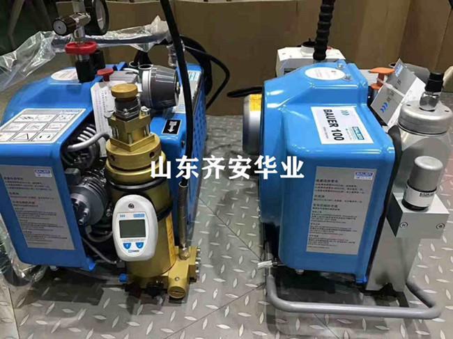 JII E消防空气呼吸器用充气泵BAUER空气压缩机 1