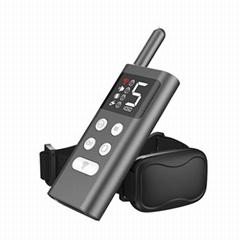 Newest Rechargeable Waterproof 300m Range Dog Shock Collar with Remote