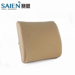 Amazon hot sale slow rebound memory foam car office seat lumbar support back cus