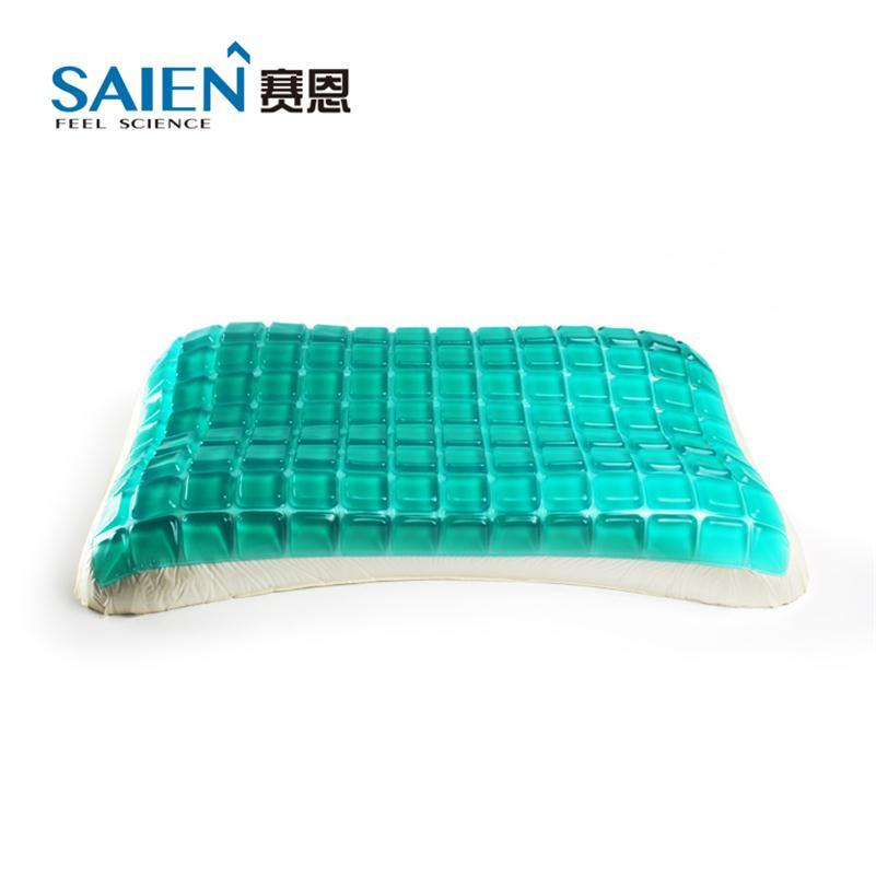 viscoelastic memory foam bedroom gel cooling pillow 1