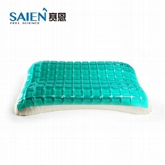 viscoelastic memory foam bedroom gel cooling pillow