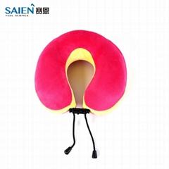 Soft U shape memory foam travel head neck rest pillow
