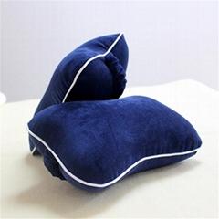 2019 new memory foam car headrest neck pillow& lumbar support back cushion