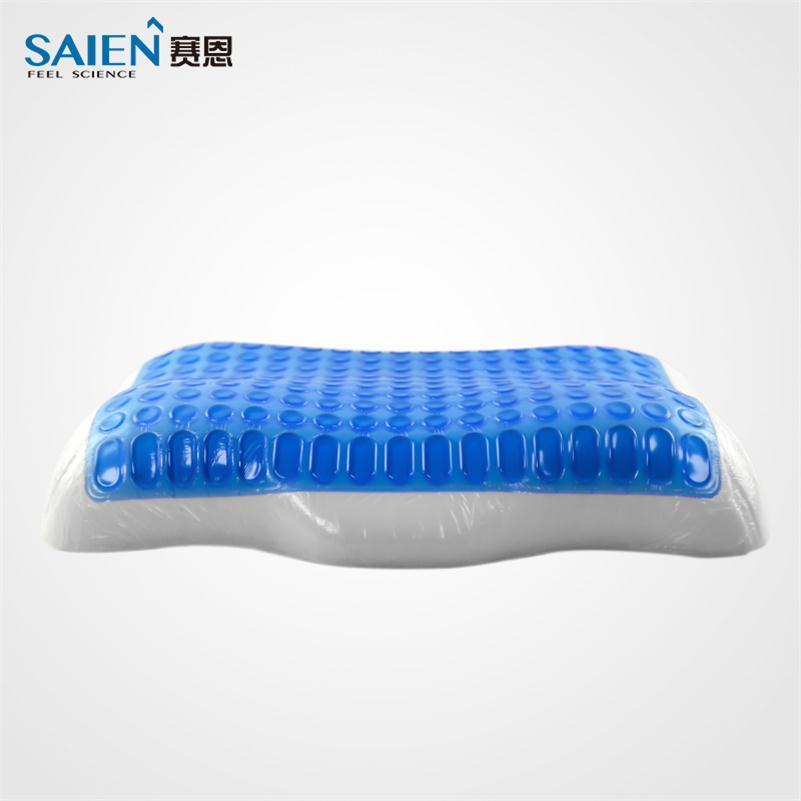 SAIEN PU gel medical neck pain rest memory foam pillow 1