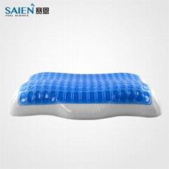 SAIEN PU gel medical neck pain rest memory foam pillow