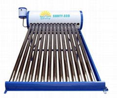 300L sunroof pressured split solar system solar water heater