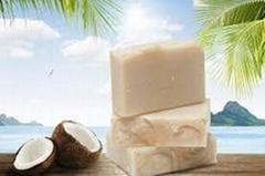 Coconut oil soaps