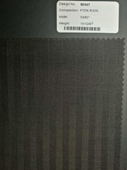 TR fabric for suits