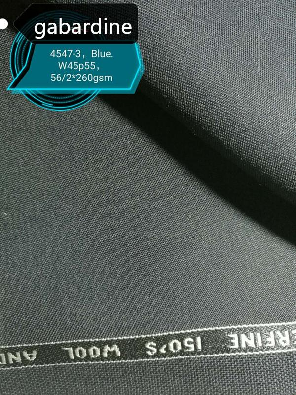 wool/polyester blend fabric for suits,gabardine 3