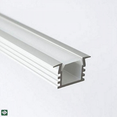 Custom Extrusion Aluminium Lighting For Housing Led Strip Profile Enclosure