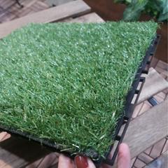 DIY Artificial Grass Til