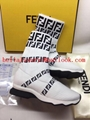 Fendi boots sneakers classic fendi shoes ankle boot lady leather knee boots