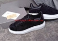 top quality factory wholesale Alexander McQueen shoes leather shoes