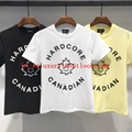Wholesale DSQUARED2 Men Printed Round neck short sleeve tee T-Shirt Cotton DSQ 6