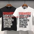 Wholesale DSQUARED2 Men Printed Round neck short sleeve tee T-Shirt Cotton DSQ 9