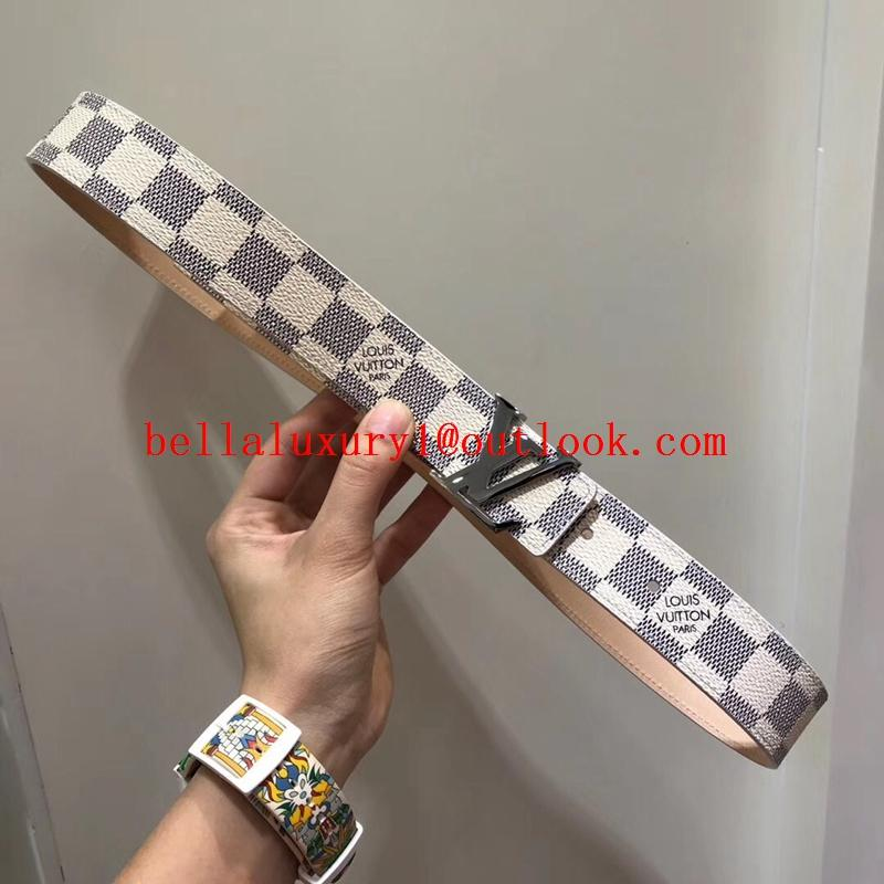 Sell 1:1Louis Vuitton Belt Top Quality LV Printed Logo Belt 100% cowhide quality 10