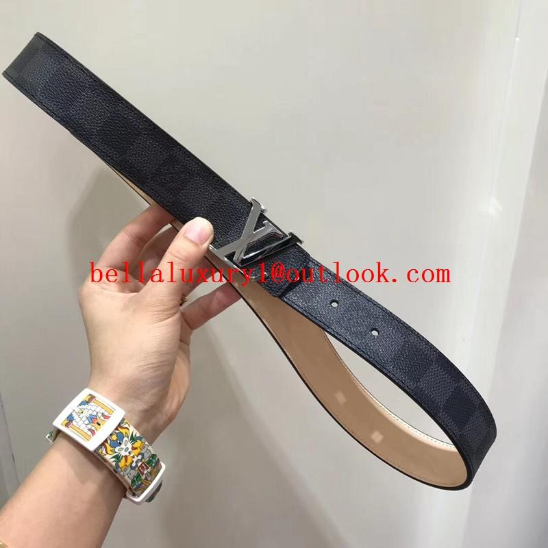 Sell 1:1Louis Vuitton Belt Top Quality LV Printed Logo Belt 100% cowhide quality 11